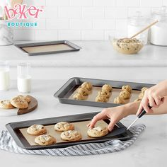 If you're a keen baker, try swapping out your greaseproof paper for this set of silicone baking mats! 17 Products To Help Make Your Kitchen A More Eco-Friendly Place Silicone Cupcake Liners, Silicone Baking Mat, Yogurt, Food Huggers, Food Grade, Safe Food, Biodegradable Products, Baked Goods, The Help