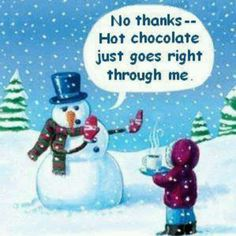 I know how this snowman feels. Sadly!!!