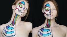 Cartoon Anatomy Makeup Tutorial
