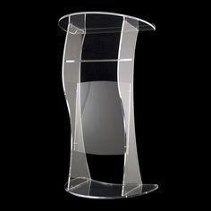 Beautiful Price Reasonable Clean Acrylic Podium Pulpit Lectern