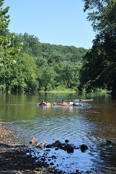 Tubing down the Brandywine on a lazy summer afternoon......  Photo by me(Elaine Kucharski)