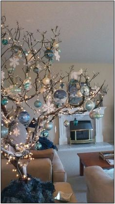 50 fresh blue christmas decorating ideas page 4 | Pointsave.net
