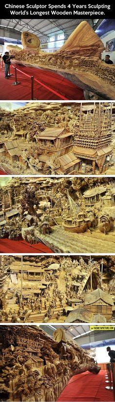 Wooden Masterpiece http://ibeebz.com