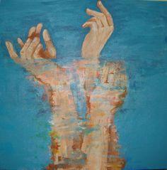 Gratidão/Thank by Rafaela Regina Rocha Senfft Religious Paintings, Religious Icons, Christian Art, Creative, Restoration, Waiting, Feminine, Inspiration, God