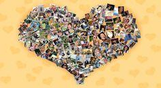 Collage Poster  Geben Sie Ihren Erinnerungen eine kreative Form!