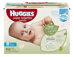 Huggies Natural Care Baby Wipes Refill Unscented Hypoallergenic Aloe and Vitamin E 552 count Baby Wipes Travel Case, Baby Wipe Case, Wipes Case, Baby Skin Care, Baby Care, Baby Wipe Holder, Baby Wipes Container, Baby Wipe Warmer, Disposable Diapers