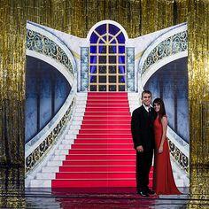 Mansion Stairway Standee