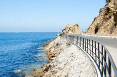 Pebble Beach Rd, heading out of Avalon to Pebble Beach ... on Santa Catalina Island.