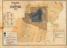 Mapa cidade de Coritiba