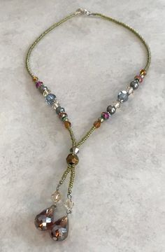 c467433e59c8 Event  Victorian Dewdrop Necklace-Midwest Beads