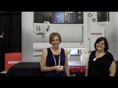 BERNINA University 2014 - Bernina 880 Sterling Edition & New Bernina Foot #97 - YouTube