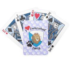 Zürich Schweiz Suisse Svizzera Spielkarten
