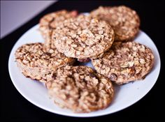 Baked Gluten-Free Banana Oat Cakes | Calm Mind Busy Body