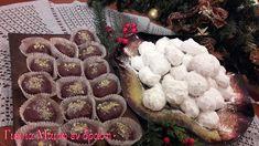 Κουραμπιέδες με καρύδια by Mairh Apple Cake, Waffles, Sweets, Sugar, Cookies, Breakfast, Desserts, Christmas, Food