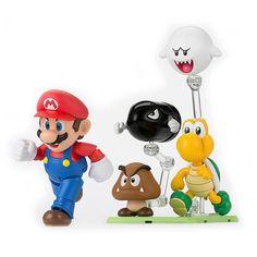 Super Mario SH Figuarts Diorama Play Set D $25.99