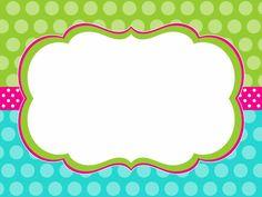 Boarders And Frames, School Labels, Page Borders, Frame Template, Tag Templates, School Frame, Name Labels, Freebies, Borders For Paper