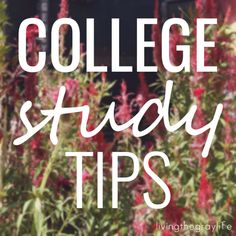 College Study Tips: 7 Ways to Get GOOD GRADES in COLLEGE. Knowing how to manage your time as a student and study the right way can make or break or grades.