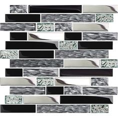 TST Mosaic Tiles is professional tile supplier. We are collecting more and more new special artistic mosaic tiles and showing them online. Blue Mosaic Tile, Mosaic Art, Accent Wall Decor, Glass Tile Backsplash, Glass Tiles, Backsplash Ideas, Wall Borders, Tile Art, Kitchen Backsplash