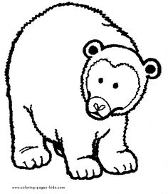 bear with a flower bear color bears animal coloring pages color