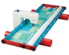 Flynn Multi-Frame Quilting System Makes Quilting Fly