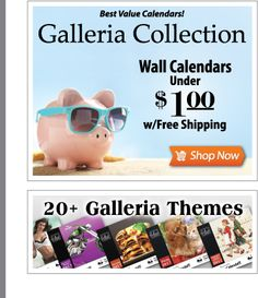 Affordable Custom Wall Calendars, cheap promotional products, under $1, cheap calendars, galleria calendars, business calendar, business logo calendar, advertising business calendar, printed company logo, marketing tool, advertising promotional product, cheap advertising, 2017 wall calendar, 2017 appointment calendar, www.valuecalendars.com