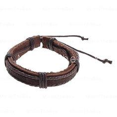 Leather Bracelet! [USD $ 0.99]