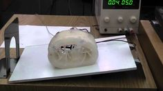 Soft Robot using Pneumatic Battery and EP Magnet Valves