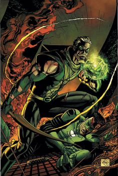Green Arrow and Green Latern by Ethan Van Sciver
