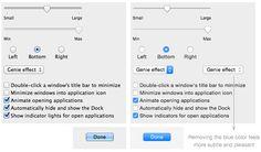 Mac OS X Yosemite: new UI elements