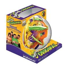 The Perplexus is really challenging, which makes it the perfect gift for hard-to-buy-for teens & adults. You have to carefully turn and tilt it to guide a tiny ball through the obstacle course. Watch the video on Amazon to see how it works. There is also a Rookie version for younger kids. You can find this at Target for $20.