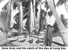 Zane Grey, amazing fisherman