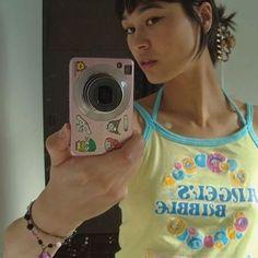 retro camera picture, alt, y2k, sanrio stickers Retro Camera, Sanrio, Dream Life, T Shirts For Women, Stickers, Fashion, Moda, Fashion Styles, Fashion Illustrations
