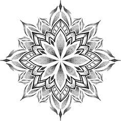 Geometric Tattoo Pattern, Geometric Mandala Tattoo, Mandala Flower Tattoos, Mandala Tattoo Design, Mandala Drawing, Tattoo Designs, Dot Tattoos, Dot Work Tattoo, Arm Tattoo