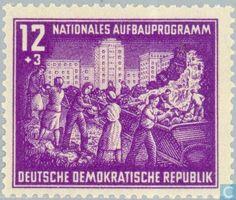 GDR - Berlin building 1952