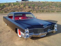 65 Cadillac coupe deville