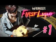 Прохождение inFAMOUS First Light (PS4) - Взрывное начало #1 - YouTube