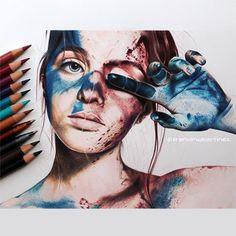 My first #hiperrealism @shannicebishop @_positivity #art #arte #artwork #theartlovers #boligrafo #ballpoint #lapizdecolor #artistsdrop #draw #drawing #drawings #dibujo #painting #illustration #ilustracion #paint #pintura #portrait #instadraw #retrato #colorpencil  #motivation #hiperrealismo #spotlightonartists #contemporaryart #sketch #artcontemporain #artfido #proartists by franwingmartinez