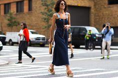 Streetstyle на Неделе моды в Нью-Йорке. Часть 1 | Мода | STREETSTYLE | VOGUE