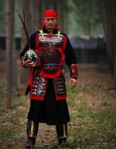 Song Dynasty Chinese warrior. Armorer: 苍凝君.