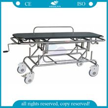 AG-HS014 with artificial leather mattress patient ambulance transport medical stretcher for sale