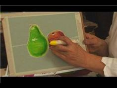 When coloring in oil pastels, lay down a layer of a basic color, start incorporating darker shadow tones and add the highlights at the end. See how opaque pastels can be blended and layered with creative tips from an art instructor in this free video on using oil pastels.    Expert: Sheila Coly  Contact: www.thousandcranesstudio.com/  Bio: Sheila Co...