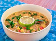 Corn and Quinoa Chowder | Community Post: 13 Surprisingly High-Protein Vegetarian Recipes