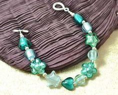 Sea Shades Murano Glass Bracelet £26.20