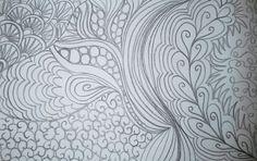 Prácticas de acolchado, dibujando doodles. Elsalabors