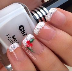 Holiday nail art
