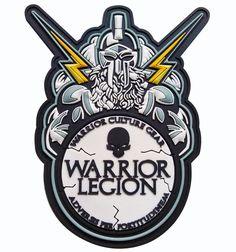 Warrior Legion Series Patch 3- ZEUS | Warrior Culture Gear | Warrior Inspired Apparel
