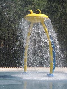 Cool off from the Summertime heat at the Splash Pad at Trail Creek Park. Splash Zone, Splash Park, Water Playground, Playground Design, Backyard Splash Pad, Backyard Water Parks, Water Play For Kids, Kiddie Pool, Dream Pools