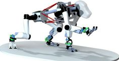 German researchers build robotic apes to explore the Moon