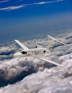 Citation CJ4 jet