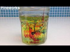 Fireworks In A Jar Science Experiment | Science Experiments | Kids Activities And Games